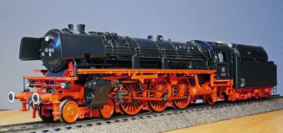 Dampflokomotiven aus vergangenen Modellbahn-Epochen sind immer ein besonderer Hingucker
