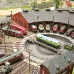 Kreativität und Geduld des Eisenbahners sind gefragt, wenn neue Gleisformen entstehen sollen